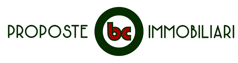 Logo lungo di bc Proposte Immobiliari, agenzia immobiliare di Benedetto Ciaccia geometra a Ostia Lido, Roma